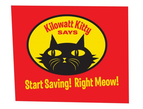 Kilowatt Kitty by DoubleMRanch Design