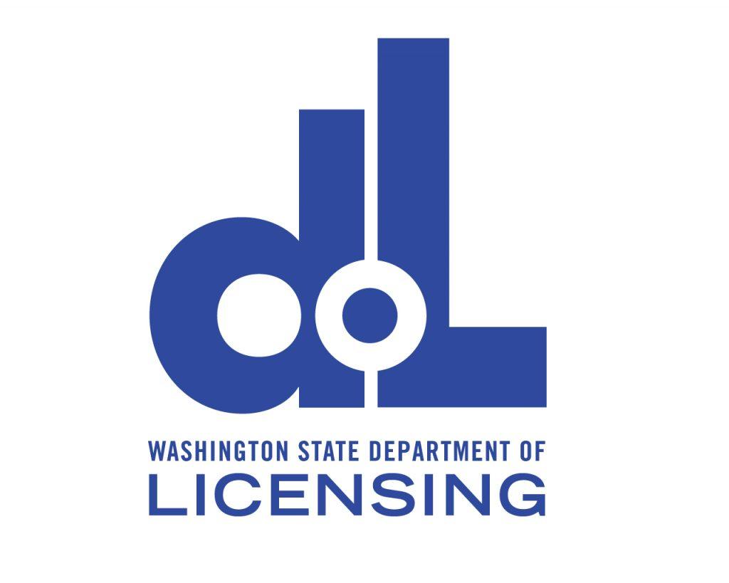 Dept of licensing logo WA state